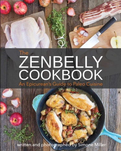 """""""The Zenbelly Cookbook"""" by Simone Miller"""