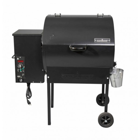 The Camp Chef P24 Pellet Grill has a digital temperature control system that allows for easy cooking