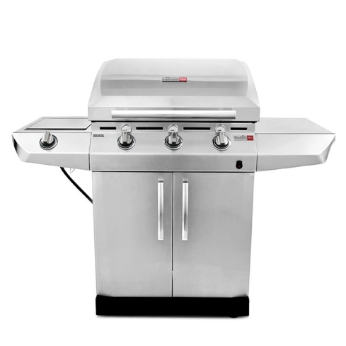 The Char-Broil Quantum Infrared Urban Grill uses an infrared cooking system