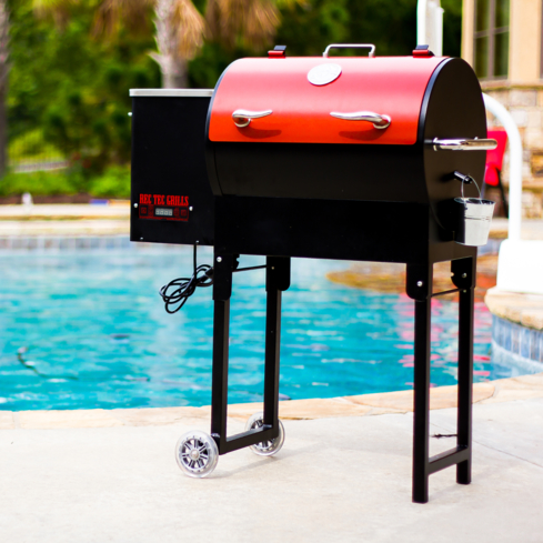 The REC TEC Wood Pellet Grill excels at smoking ribs, brisket and other barbecue staples