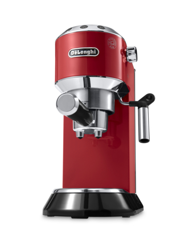 Use the De'Longhi Dedica Pump Espresso Machine to create the best, hand-crafted lattes for you and your friends