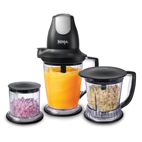 The Ninja Master Prep Professional Blender allows you to multi-task in the kitchen