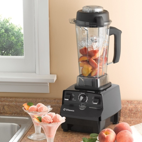 The Vitamix Professional Series was made under the guidance of the Culinary Institute of America