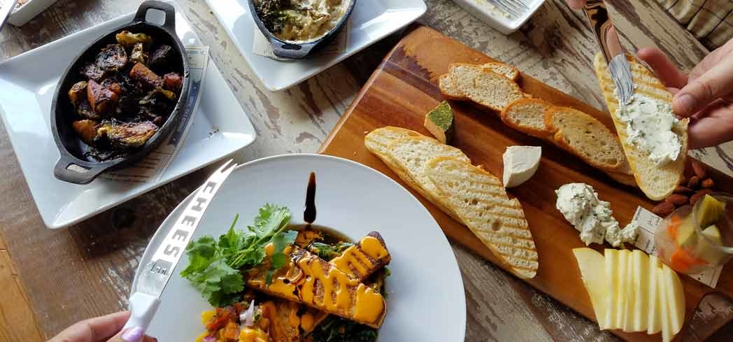 Vegan food encompasses a variety of vegetables, fruits, nuts, seeds and plant-based proteins