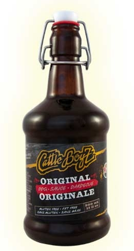 CattleBoyZ BBQ Sauce in Chipotle Maple Bacon adds flavor to any meat