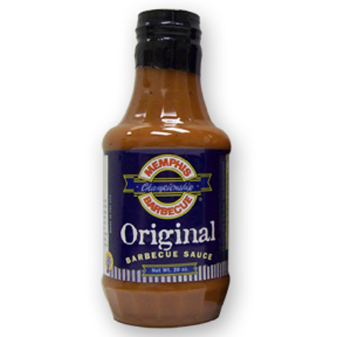 Memphis Championship Barbecue Sauce comes in two varieties