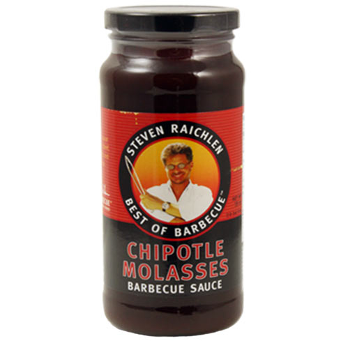 Steven Raichlen Best of Barbecue Chipotle Molasses has sweet and hot flavors