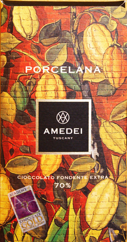 Amedei's Porcelana Bar is made from Venezuelan cocoa beans