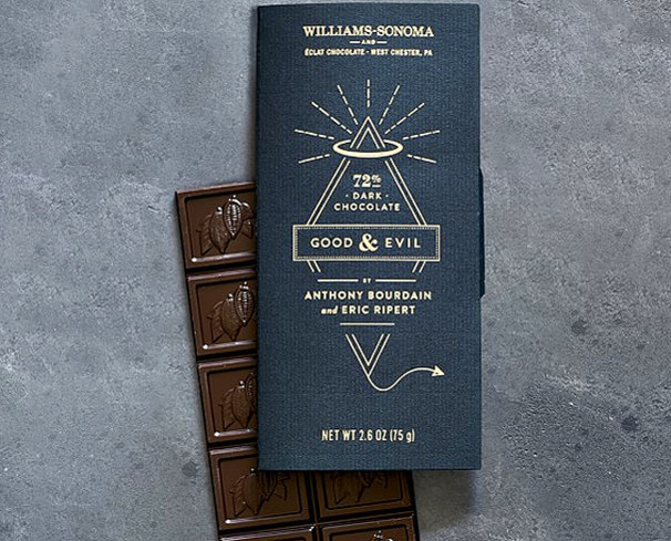 The Good & Evil bar from Anthony Bourdain, Eric Ripert and master chocolatier Christopher Curtin