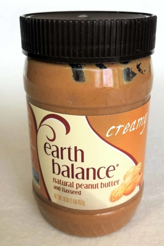 Earth Balance is one of GAYOT's Taste Tested Peanut Butters