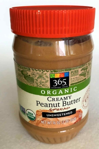 Whole Foods 365 Organic is one of GAYOT's Taste Tested Peanut Butters