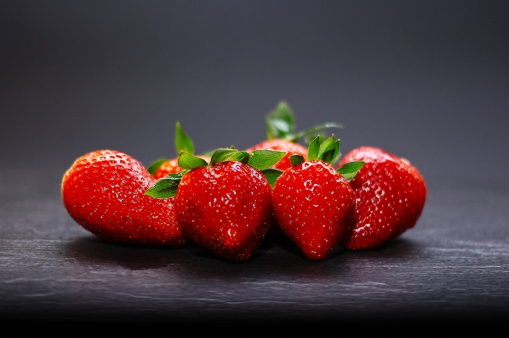 Packed with Vitamin C, strawberries keep the blood flowing to get you in the mood