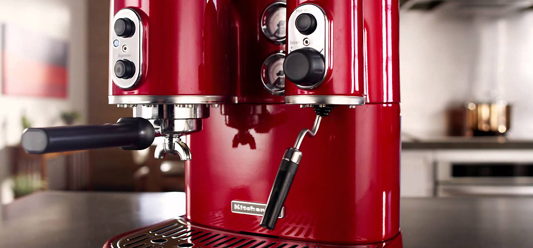 The KitchenAid Pro Line Series is one of GAYOT's Top 10 Espresso Machines