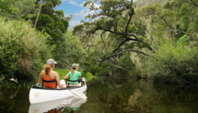 Canoeing on Noetzie River
