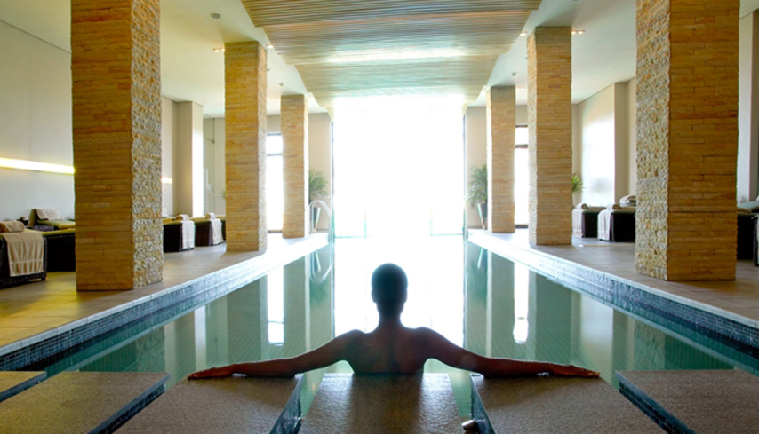 The Spa and Gym indoor heated pool