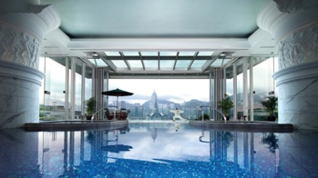 The Swimming Pool at The Peninsula, Hong Kong