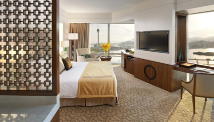 The Deluxe City View room