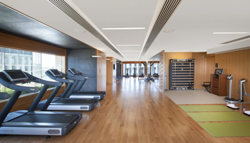 The leisure fitness center