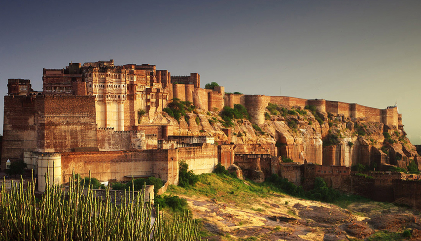 The Walled City, where the RAAS Jodhpur is located
