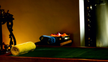 The Ayurveda Spa Treatment Room