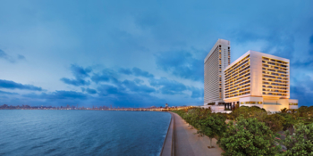 An oceanfront view of The Oberoi, Mumbai