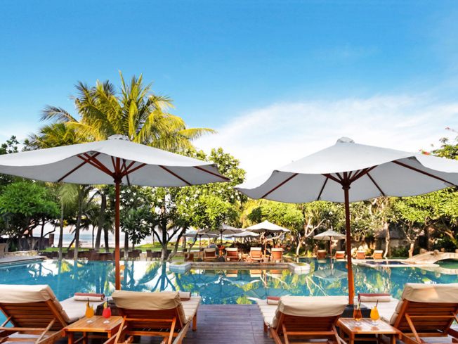 Poolside at The Royal Beach Semiyak Bali