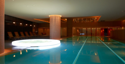 The Nagomi Spa and Fitness pool