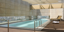 The Presidential Suite pool