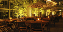 Outdoor Seating at The Oak Door