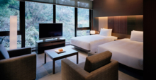 The Executive Suite bedroom