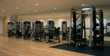 Riraku Spa and Gym's Fitness Center