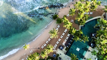 An aerial view of The Ritz-Carlton Dorado Beach