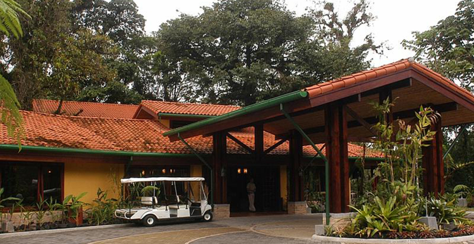 Tabacon Grand Spa Thermal Resort one of GAYOT's best hotels in Costa Rica