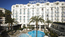 The exterior view of the Grand Hyatt Cannes Hôtel Martinez