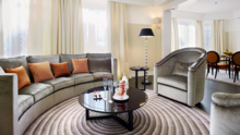 Suite Des Oliviers living room