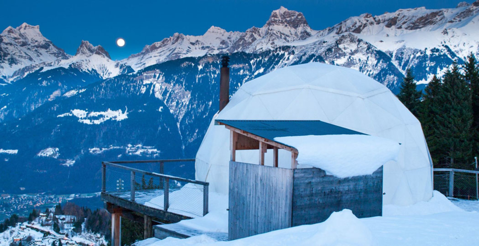 Whitepod Hotel Switzerland