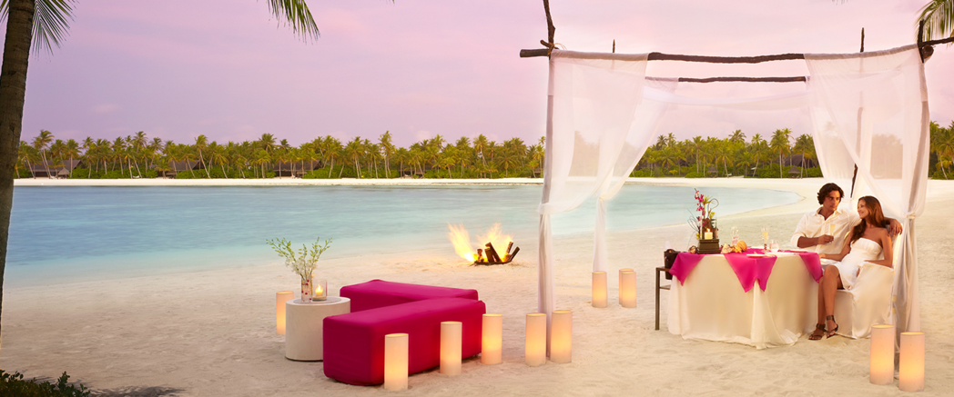 Luxury dinners at the One&Only Reethi Rah