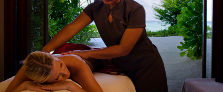 A massage in a One&Only Treatment room