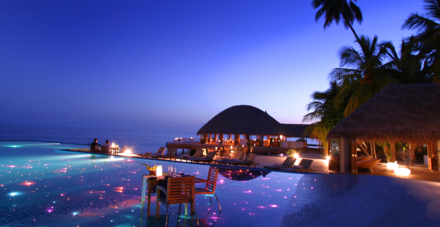 Destination dining at Per Aquum Huvafen Fushi