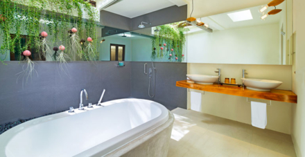 The Wonderful Beach Oasis Bathroom