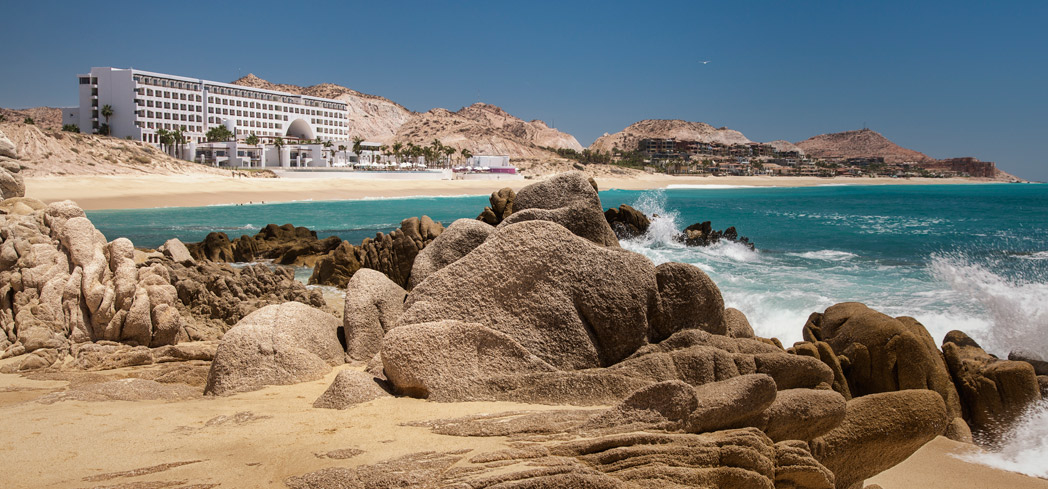 An exterior view of Marquis Los Cabos Resort & Spa