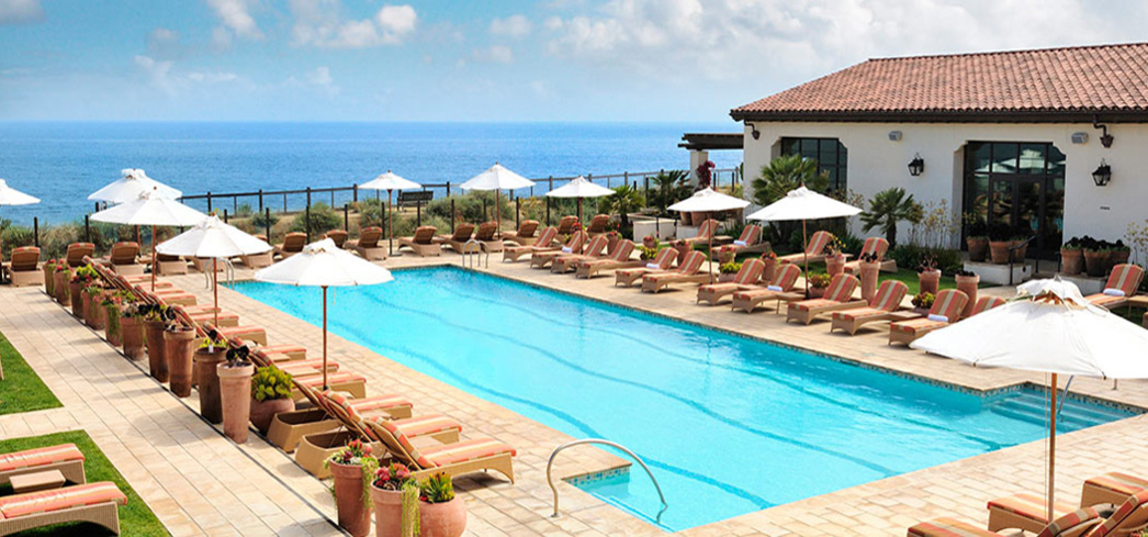Poolside at Terranea Resort