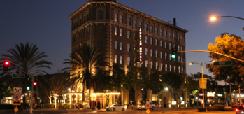 The exterior of the Culver Hotel