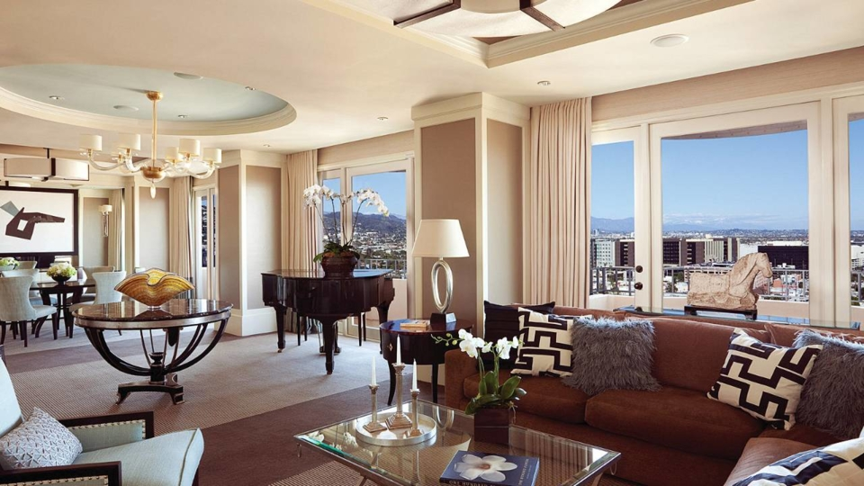 Luxury Suite at the Four Seasons Doheny