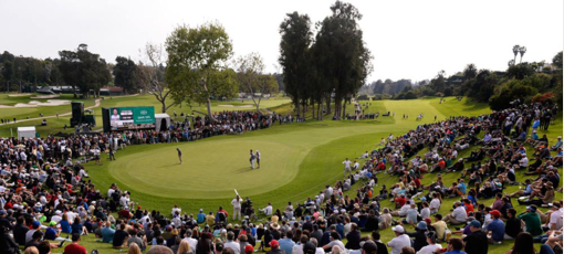 The Northern Trust Open takes place at the Riviera Country Club in Pacific Palisades, California