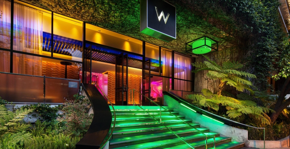 An exterior view of W Los Angeles - West Beverly Hills