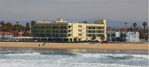 The Pier South Resort in Imperial Beach, California
