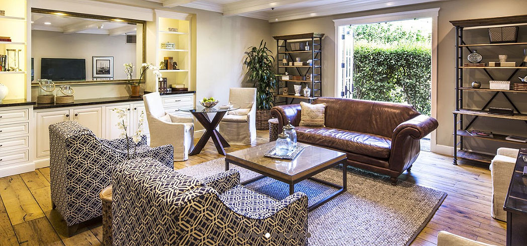 A suite at Fess Parker's Wine Country Inn & Spa in Los Olivos, California