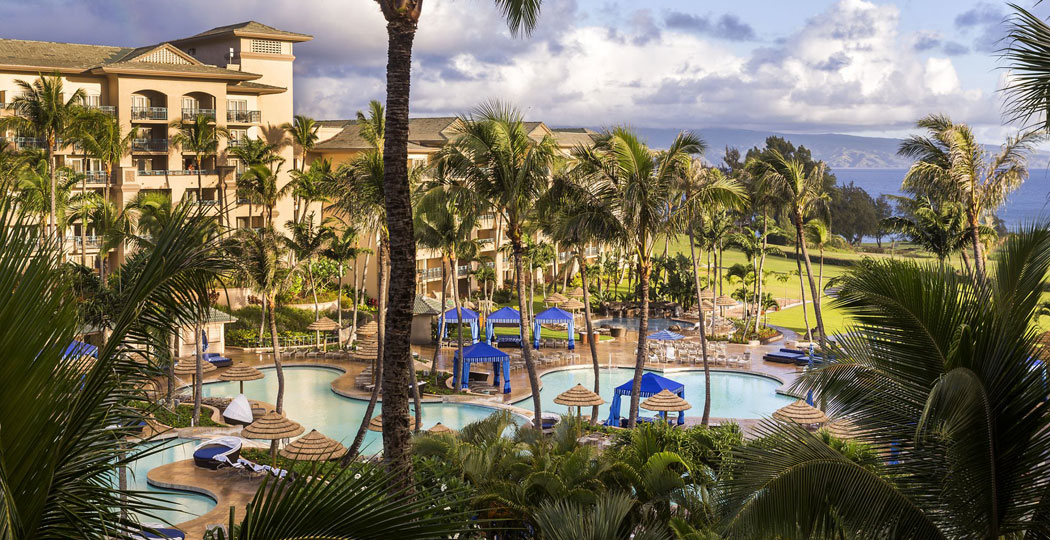 The Ritz-Carlton Kapalua Maui one of GAYOT's Top Ten Hotels Hawaii