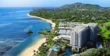 The Kahala Hotel & Resort one of GAYOT's Top Ten Hotels in Hawaii